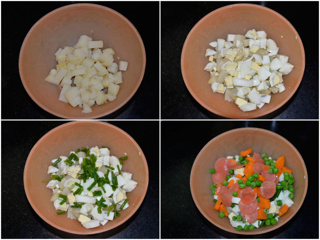 Русский Картофельный салат (2)