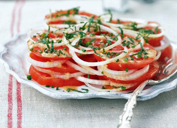 Салат из помидоров по Креольски