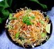 Салат из зелёной папайи