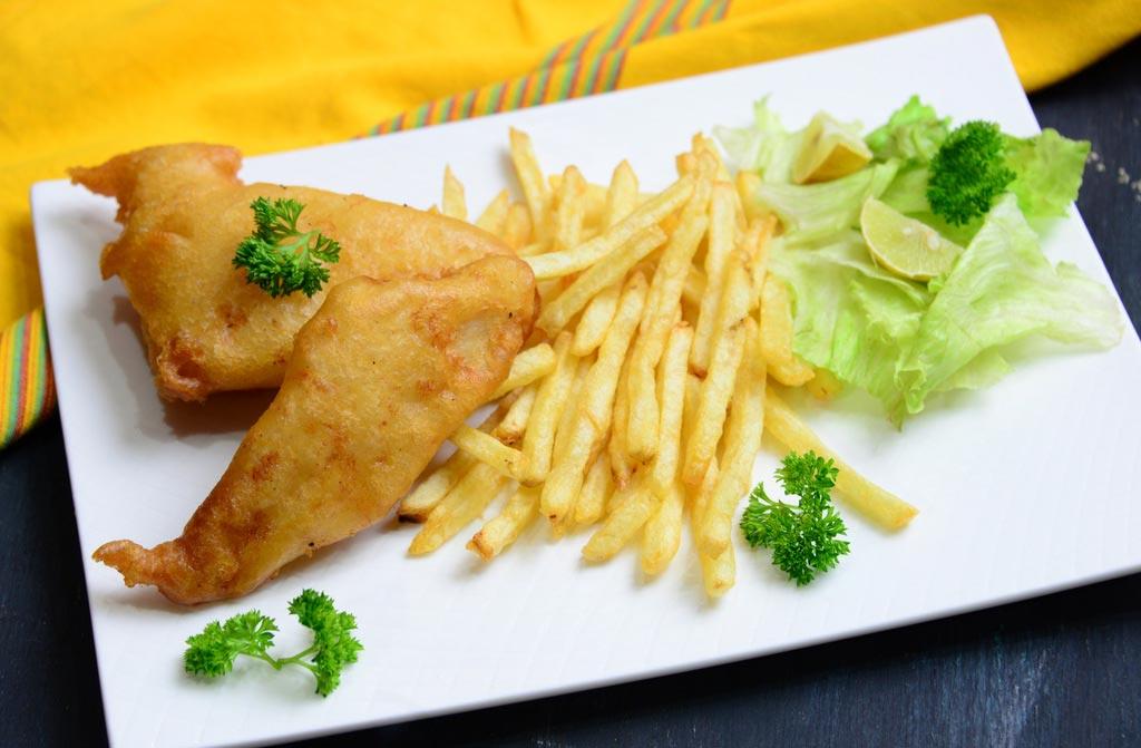 Фиш энд Чипс - Рыба и картофель фри