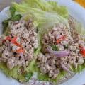 Салат из курицы Larb рецепт с фото