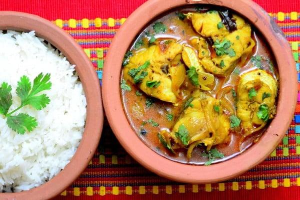 Кухня Шри-Ланки Рыбное карри - рецепт с фото