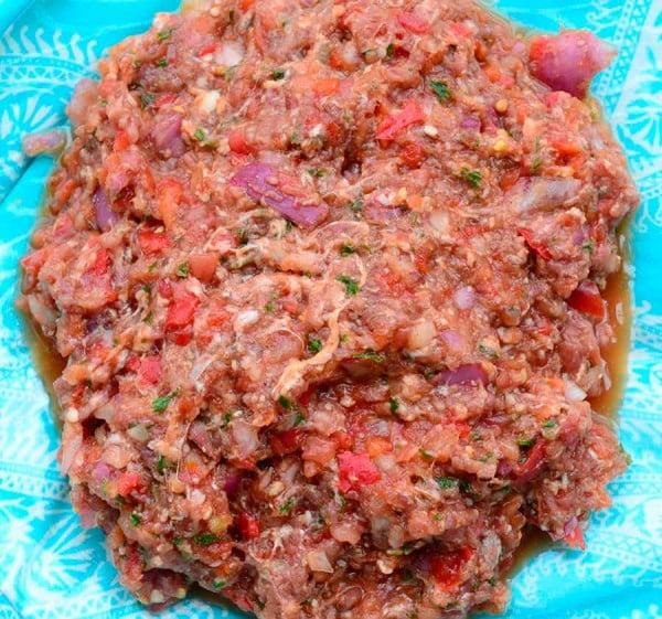 Лахмаджун (Армянская Пицца)