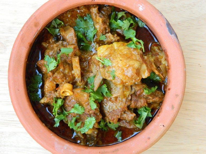 Рецепт баранины Karahi по-пешаварски