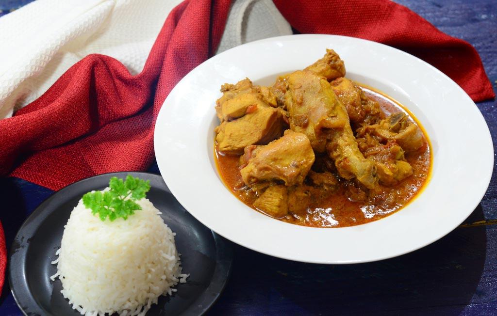 рецепт индийского салата с курицей изаправкой с карри