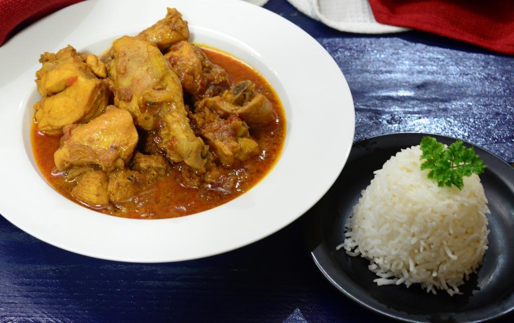 Рецепт риса с курицей карри