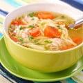 Рецепт супа с вермишелью и курицей