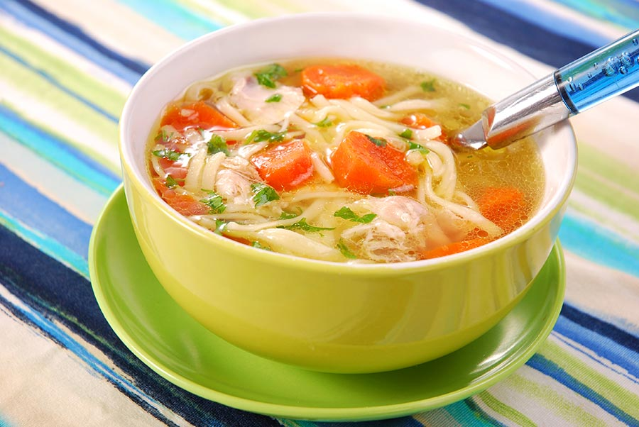 Куриный суп с лапшой в мультиварке рецепт с фото