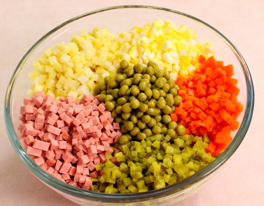 салат посольский рецепт классический рецепт