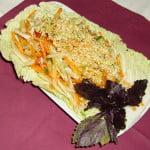 Салат из яблок и свежих овощей — Избушка на курьих ножках