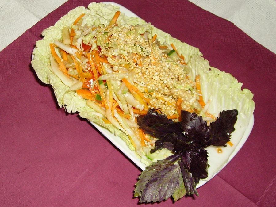 Избушка на курьих ножках - рецепт салата
