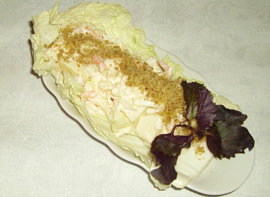 Райское яблочко - рецепт салата