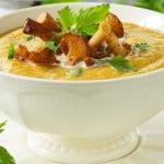 Суп–пюре с грибами