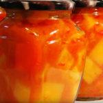 Кабачки консервированные в соусе