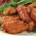 Крылышки куриные в красном соусе