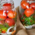 Маринованные помидоры на зиму