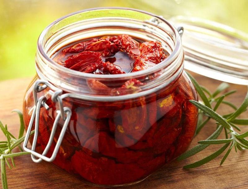 Рецепт вяленых томатов