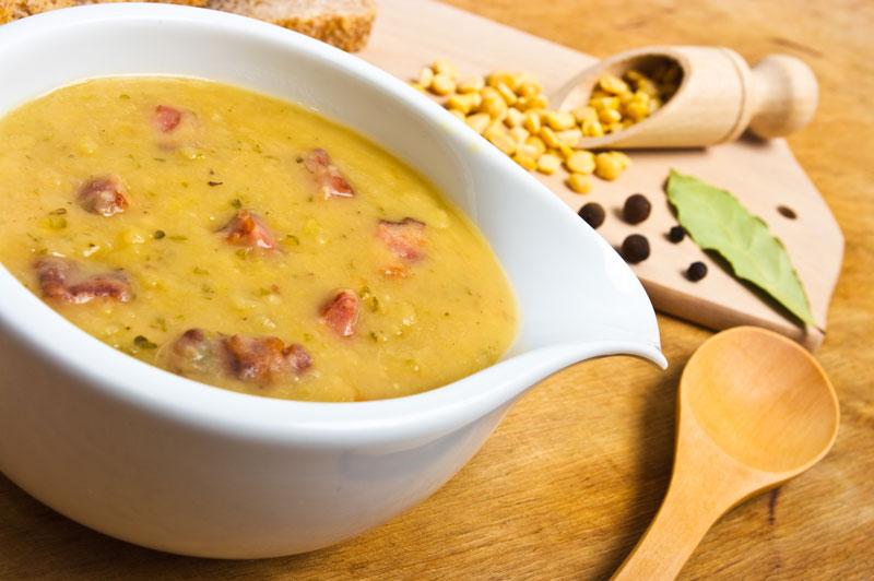Домашний гороховый суп