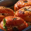 Фаршированные помидоры ризотто