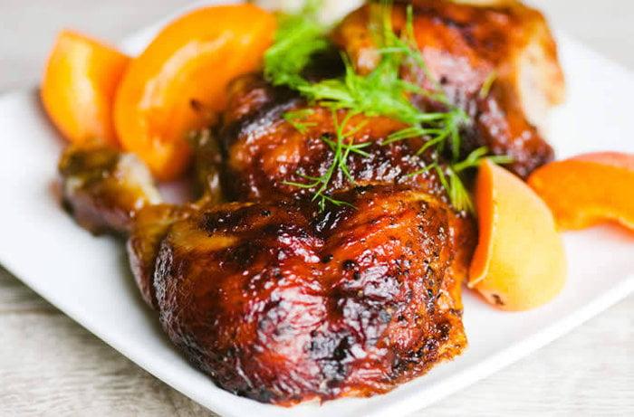 Куриные окорочка в духовке