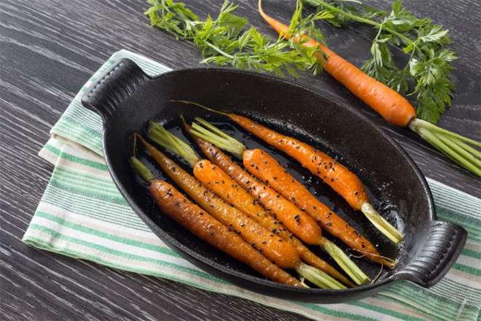 Рецепт моркови в глазури
