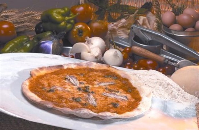 Итальянская пицца по-римски