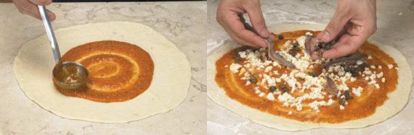 Начинка для итальянской пиццы по-римски