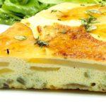 Фриттата — итальянский омлет три в одном