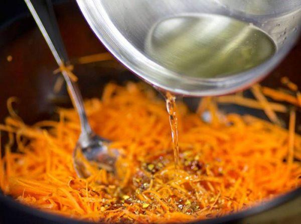 Рецепт морковь по-корейски