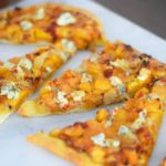 Пицца из сладкой и пряной мускатной тыквы