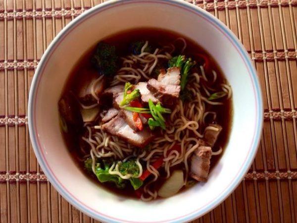 Домашний суп по-японски Рамен