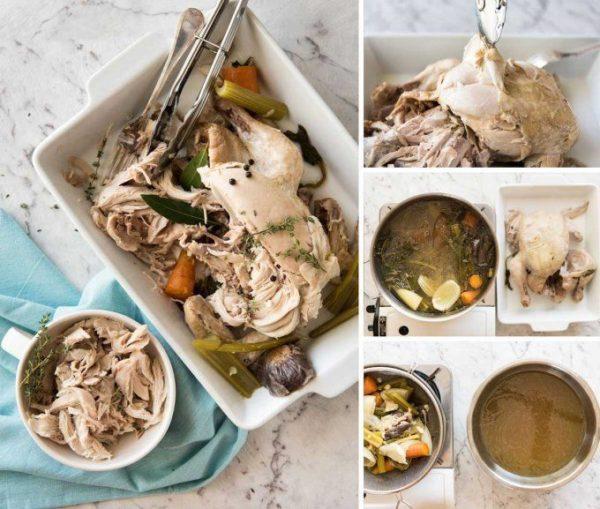 Классический домашний куриный суп с лапшой (2)