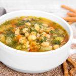 Суп картофельный с перловой крупой