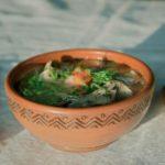 Суп картофельный с рыбой